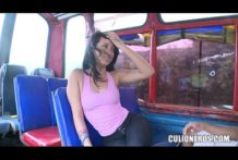 Colombiana en el Bus del Placer